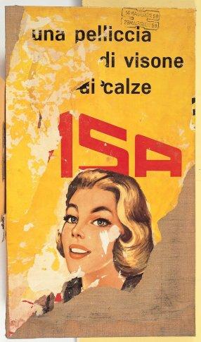 <span class=&#34;artist&#34;><strong>Mimmo Rotella</strong></span>, <span class=&#34;title&#34;><em>Una Pelliccia di Visone</em>, 1958</span>