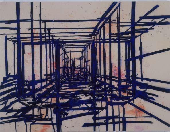 <span class=&#34;artist&#34;><strong>Tony Bevan</strong></span>, <span class=&#34;title&#34;><em>Corridors</em>, 2006</span>