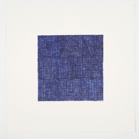 <span class=&#34;artist&#34;><strong>Gavin Turk</strong></span>, <span class=&#34;title&#34;><em>Across (Blue Biro)</em>, 2012</span>