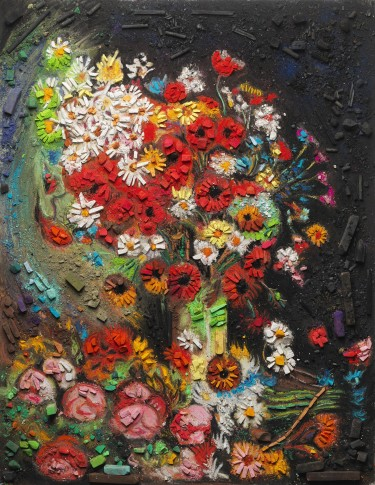 <p><b>Vik Muniz</b>, <i>Metachrome (Flowers, after Vincent van Gogh)</i><span>, 2016</span><br /><span><br /></span></p>