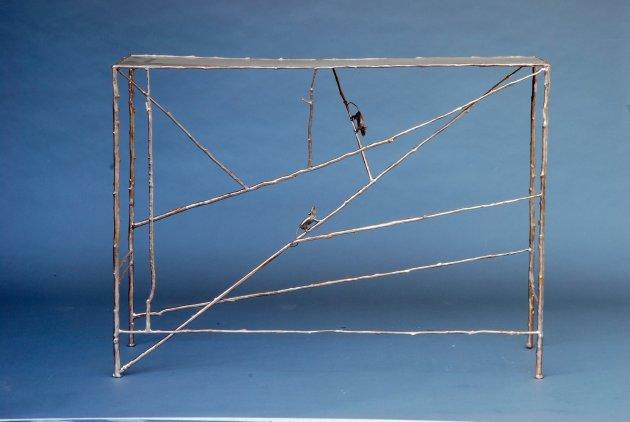 <p><strong>Claude Lalanne</strong>(b. 1924),<em>Console aux Branchettes</em>, 2013</p>