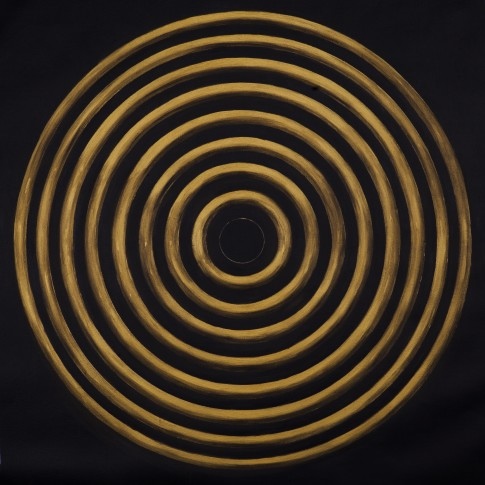 <p><strong>Ye Linghan,&#160;</strong><em>Gold.Circle.Tiger 06,&#160;</em>2014</p>