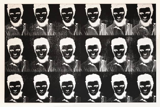 <p><b>Gavin Turk</b><span>&#160;</span><i>Multiple Negative Elvis Silver</i><span>, 2011</span></p>
