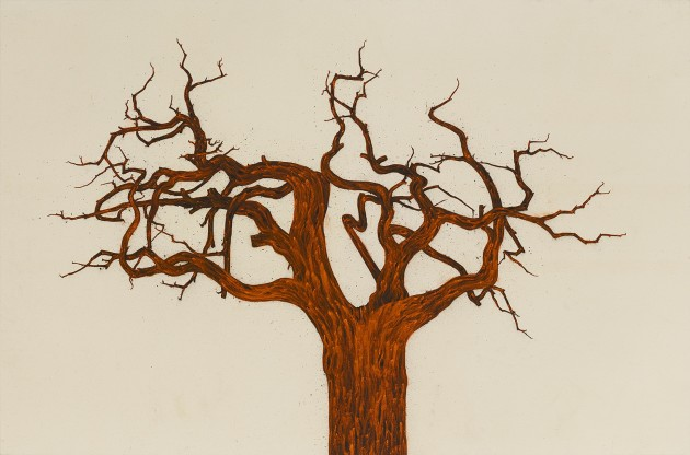 <p><b>Tony Bevan</b> (b. 1951)<br /><i>Tree (no 12) (PC146)</i>, 2014</p>