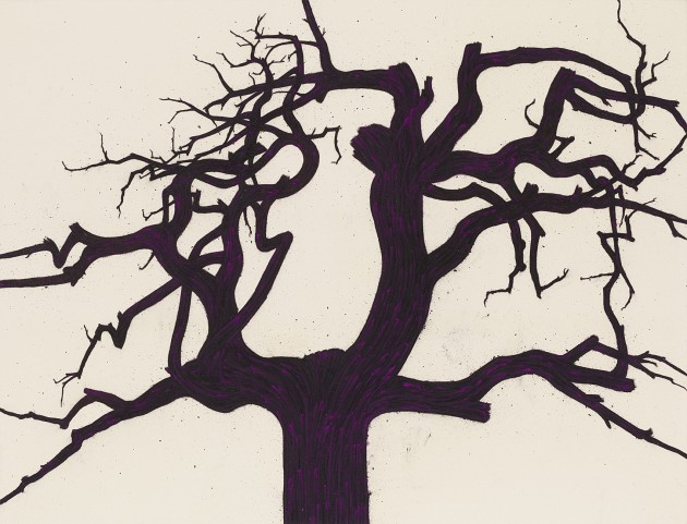 <p><b>Tony Bevan</b> (b. 1951)<br /><i>Tree (PC147)</i>, 2014</p>
