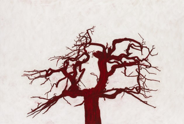 <p><b>Tony Bevan</b> (b. 1951)<br /><i>Untitled (Tree number 5) (PC125)</i>, 2012</p>