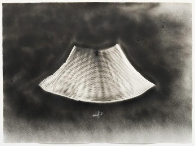 <p><b>Heinz Mack</b>, <i>Fl&#252;gel [Wing]</i>, 1966</p>