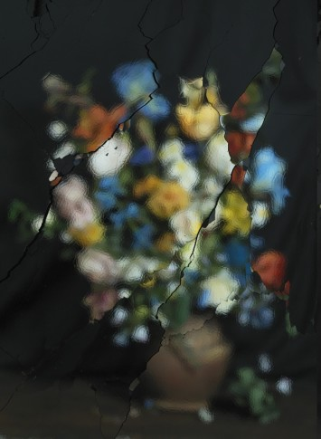 <p><b>Ori Gersht</b> (b. 1967), <i>On Reflection, Material B01</i>, 2014</p>