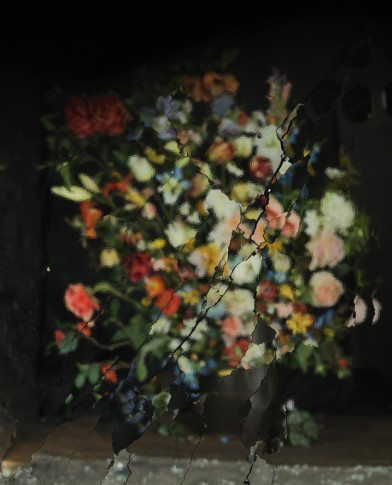 <p><b>Ori Gersht</b> (b. 1967), <i>On Reflection, Material B02</i>, 2014</p>