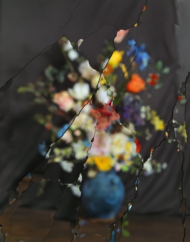 <p><b>Ori Gersht</b><i>, On Reflection, Material: After J. Brueghel the Elder E07</i>, 2014</p>