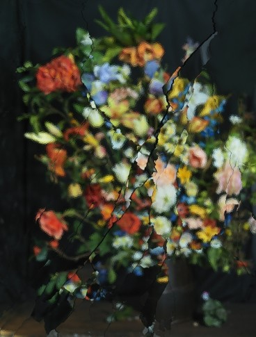 <p><b>Ori Gersht</b>, <i>On Reflection, Material B02</i>, 2014</p>