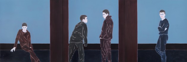 <p><b>Djamel Tatah</b> (b. 1959), <em>Untitled</em>, 2014</p>