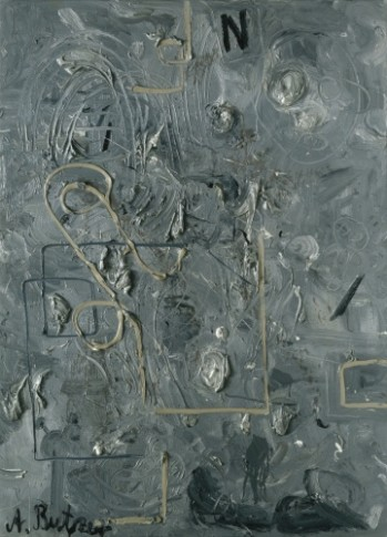 <p><b>Andre Butzer</b><span>&#160;</span><br /><i>Untitled (N-Schweine)</i><span>, 2007</span></p>