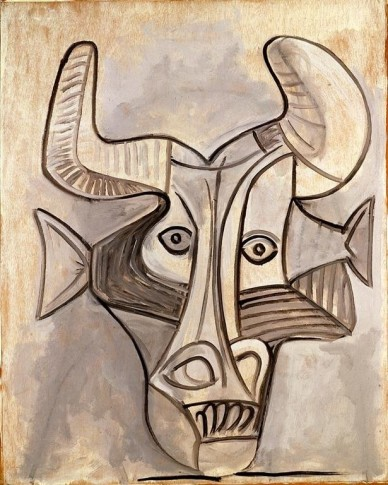 <SPAN class=artist><STRONG>Pablo Picasso</STRONG></SPAN>, <SPAN class=title><EM>Minotaure</EM>, 1958</SPAN>