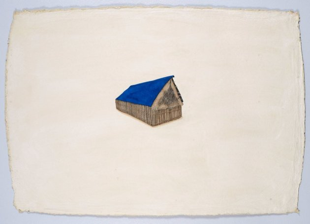<span class=&#34;artist&#34;><strong>Desmond Lazaro</strong></span>, <span class=&#34;title&#34;><em>The Blue House Painting</em>, 2012</span>