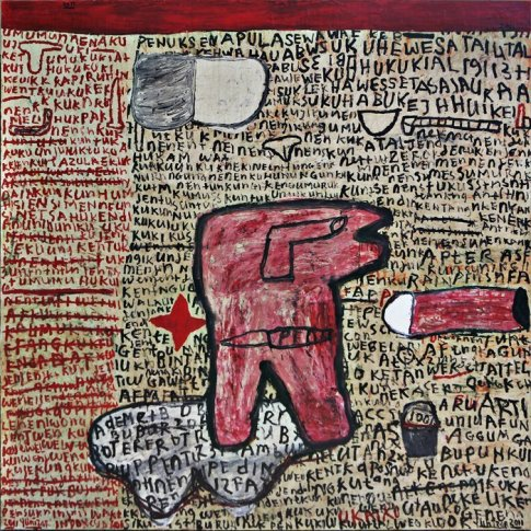 <span class=&#34;artist&#34;><strong>Yunizar</strong></span>, <span class=&#34;title&#34;><em>Bintang Merah (Red Star)</em>, 2011</span>