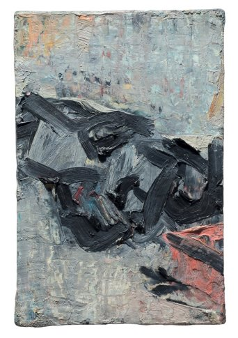 <span class=&#34;artist&#34;><strong>Frank Auerbach</strong></span>, <span class=&#34;title&#34;><em>Brigid in Bed</em>, 1974</span>