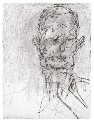 <span class=&#34;artist&#34;><strong>Frank Auerbach</strong></span>, <span class=&#34;title&#34;><em>Head of David Landau</em>, 2010</span>