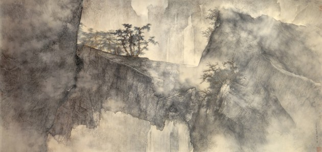 <span class=&#34;artist&#34;><strong>Li Huayi</strong></span>, <span class=&#34;title&#34;><em>Autumn Mountains</em>, 2007</span>