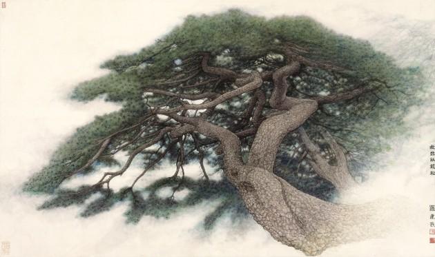 <span class=&#34;artist&#34;><strong>Luo Jianwu</strong></span>, <span class=&#34;title&#34;><em>Crouching Dragon Pine at the Jietai Temple</em>, 2013</span>
