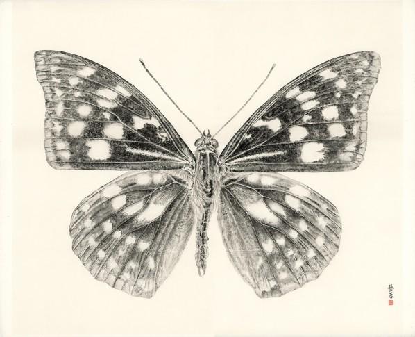 <p><span class=&#34;artist&#34;><strong>Zhang Yirong</strong></span>, <span class=&#34;title&#34;><em>Butterfly I</em>, 2014</span></p>