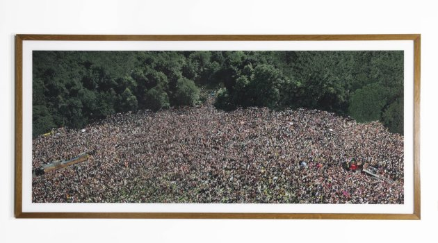 <span class=&#34;artist&#34;><strong>Andreas Gursky</strong></span>, <span class=&#34;title&#34;><em>Love Parade</em>, 2001</span>
