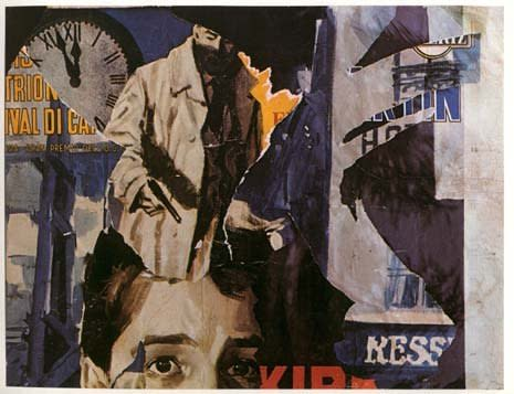 <span class=&#34;artist&#34;><strong>Mimmo Rotella</strong></span>, <span class=&#34;title&#34;><em>A Minuit</em>, 1962</span>