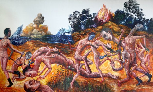 <span class=&#34;artist&#34;><strong>Entang Wiharso</strong></span>, <span class=&#34;title&#34;><em>Second skin and second landscape</em>, 2011</span>