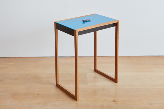 <span class=&#34;artist&#34;><strong>Gavin Turk</strong></span>, <span class=&#34;title&#34;><em>Burnt Sienna (Albers Table)</em>, 2016</span>