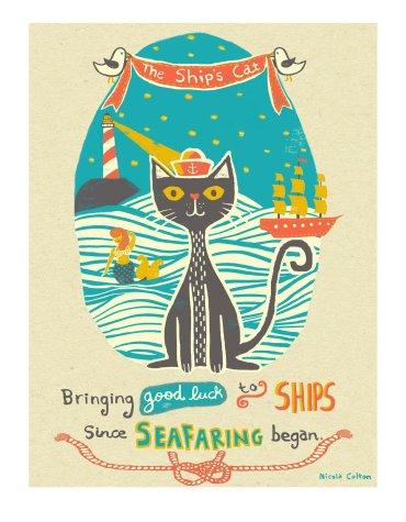 Nicola Colton - The Ship's Cat