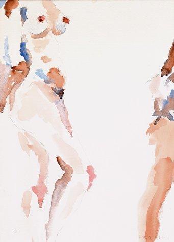 Watercolour Figure