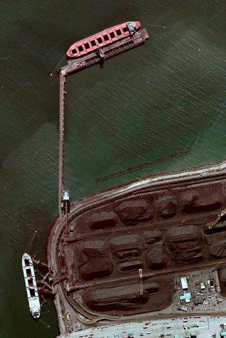 Delta Coal Port, Vancouver, British Columbia, Canada, 2009-10