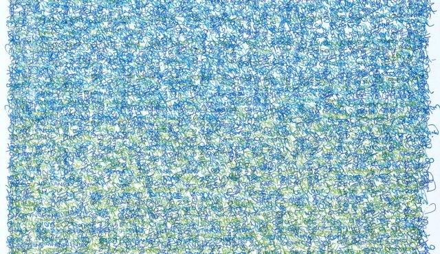 GREEN TO BLUE II