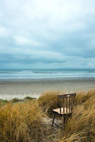 Bull Island Chair - Waiting for the Return