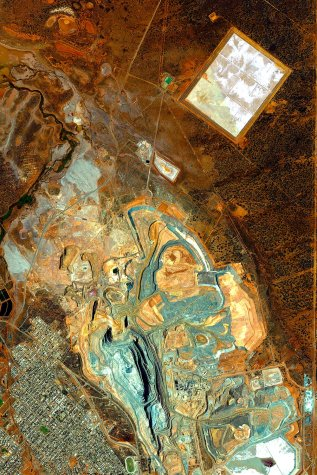 Fimiston Open Pit, Kalgoorlie-Boulder, Western Australia, Australia, 2009-10