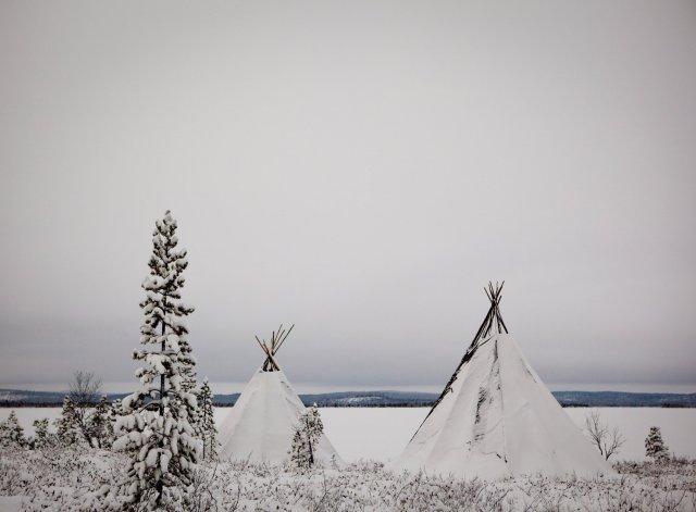 Lavvu, Lapland