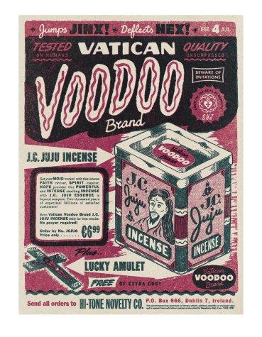 Niall McCormack - Vatican Voodoo Brand