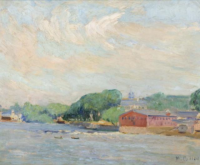 Maurice Cullen, R.C.A., 1866-1934, ''Terrebonne'', 1915 (circa)
