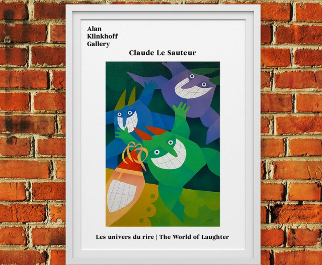 Claude Le Sauteur The World of Laughter