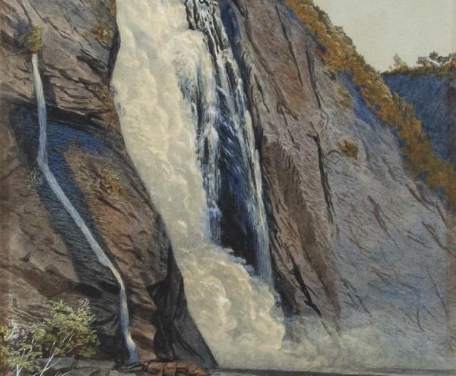 John B. Wilkinson, Montmorency Falls, 1867