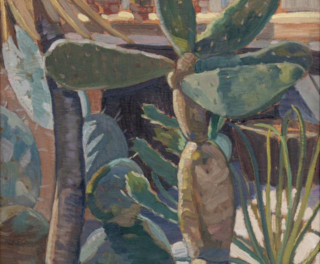 Nora Collyer, ''Plant Forms with Cactus'', 1935 (circa)