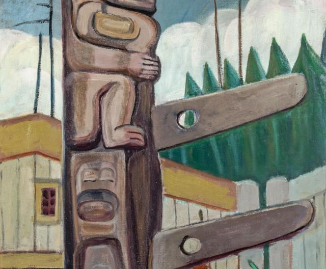 ''Haida, Totem'' 1928 by Emily Carr