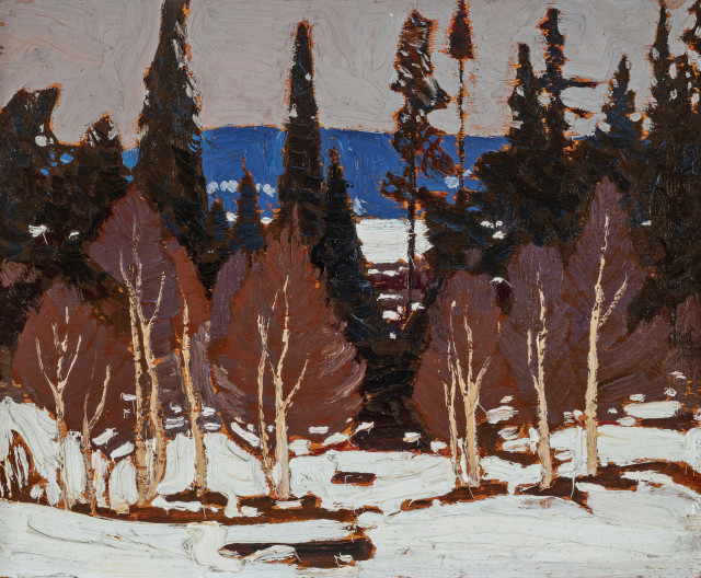 ''Early Spring, Algonquin Park'', Spring 1917, by Tom Thomson
