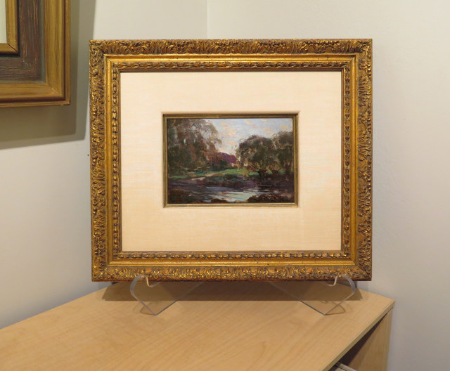 Gagnon Pochade is a Study for Canvas in the Musée national des beaux-arts du Québec