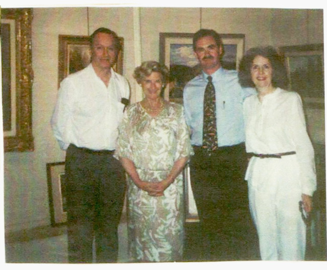 John Little, Gertrude Klinkhoff, Alan Klinkhoff and Lorraine Little
