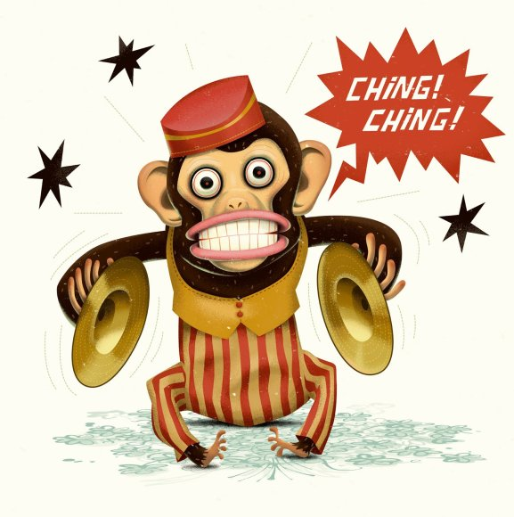 <p><strong>Steve Simpson,</strong><em>Ching Ching Monkey</em></p>