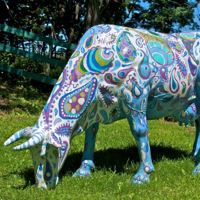 E. Tilly Strauss, 1 of 4 cows for Boston Cowparade, 2006
