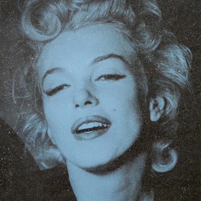 Marilyn Monroe-Blue