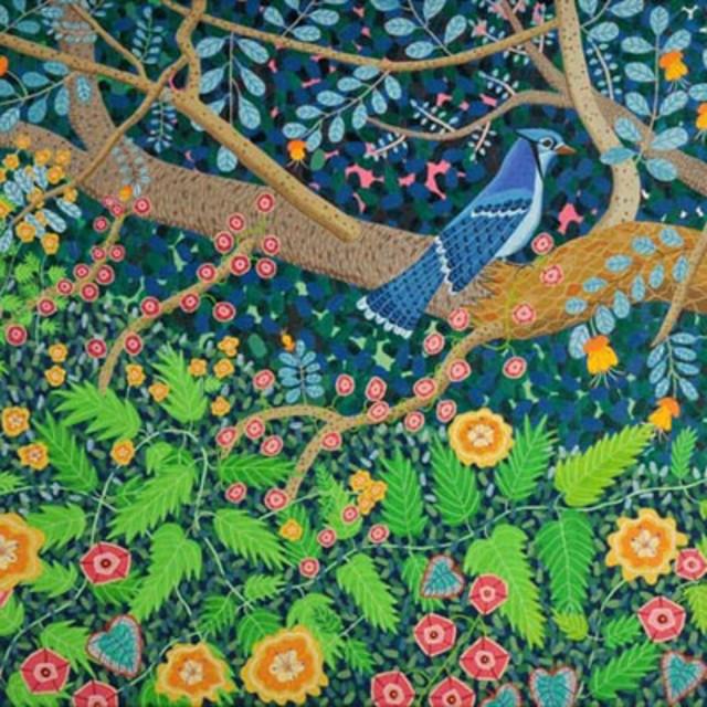 Cindi Holt, Blue Jay, 2009