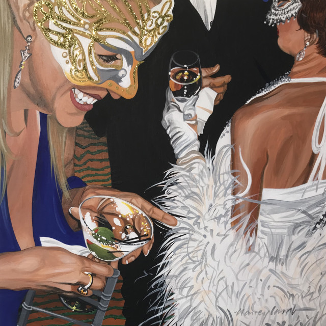 Nancy Lamb, Covid Gold, 2020
